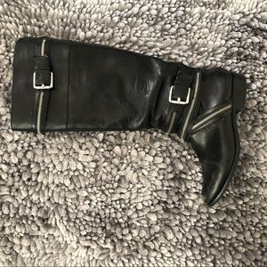 Used Michael Kors leather boots